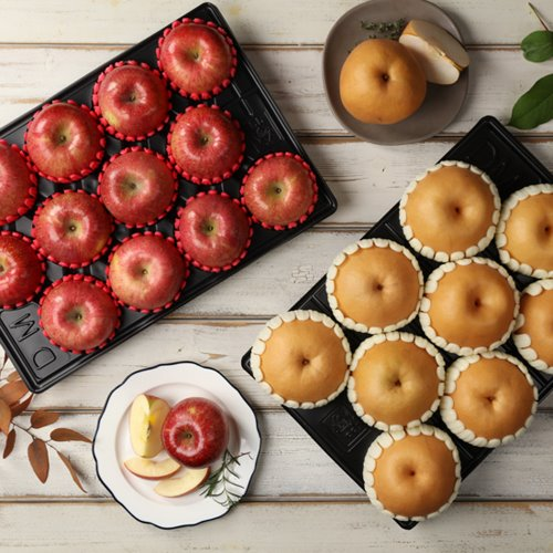 [과수원길] 9kg 사과11~12+배9 내외(제수용)